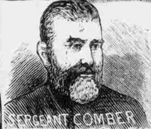 An illustration of Sergeant Comber.