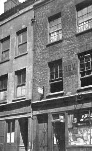 An external view of number 29 Hanbury Street.