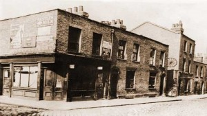 A view of the murder site in Berner Street.