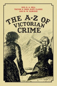 An image showing the front cover of the A - Z of Victorian Crime.