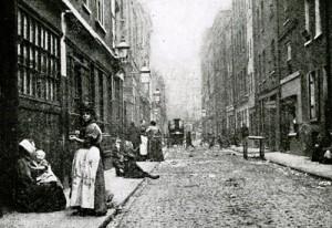A view along Dorset Street.