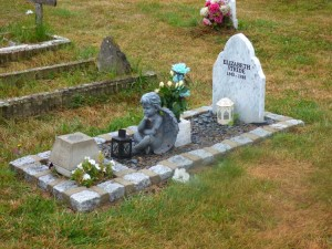 A photo of the grave of Elizabeth Stride.