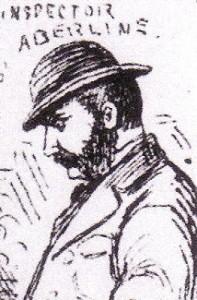 A sketch of Inspector Abberline.