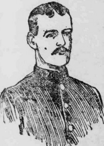 An illustration f Police Constable Ernest Thompson.