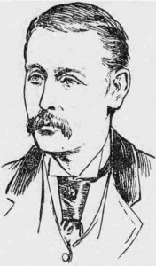 An illustration showing Inspector Bannister.