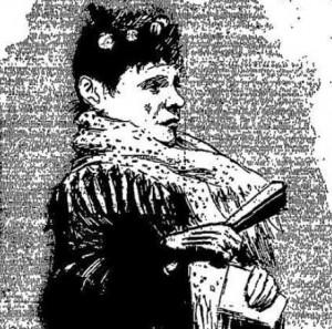 A Sketch of Miss Tottie Fay.