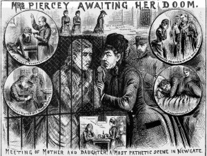 Various scenes from Mary Pearcey's final days.
