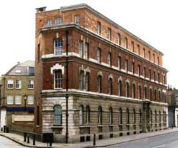 A photo showing the exterior of the former Commercial Street Police Station.