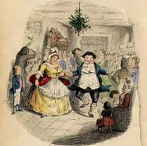 A scene From A Christmas Carol.