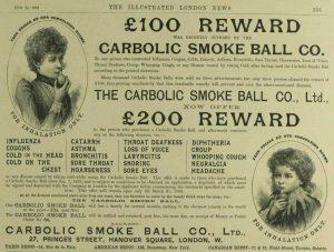 The advert offering £200 reward.