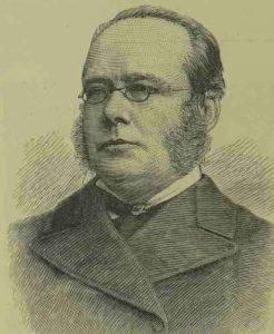 A portrait of Dr Broadbent.