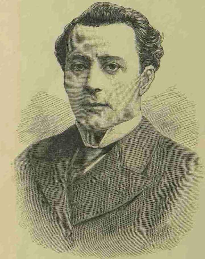 A portrait of Dr Laking.