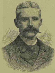 A portrait of Dr Manby.