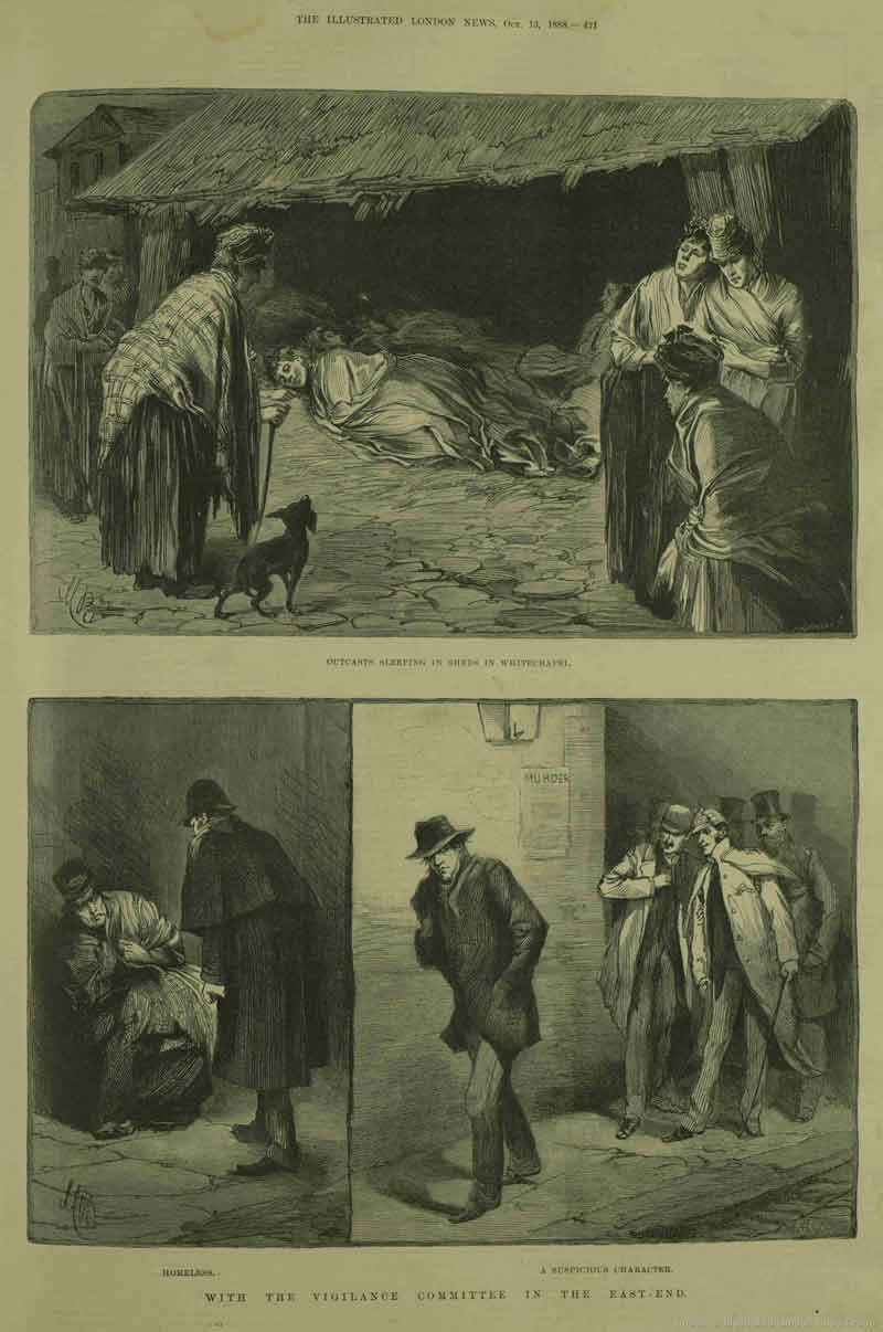 The illustrations from the Illustrated London News.