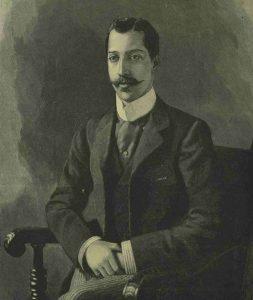 A portrait of Prince Albert Edward Victor.