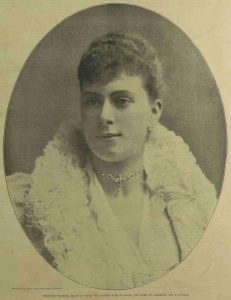 A Portrait of Prince Victoria Mary of Teck.