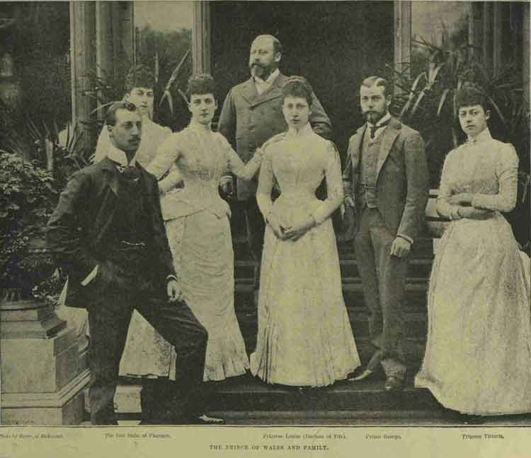The Death of Prince Albert Victor, The Duke of Clarence