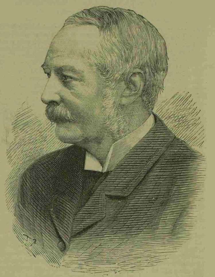 A portrait of James Monro.