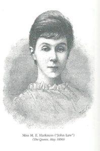 A portrait of Margaret Harkness.