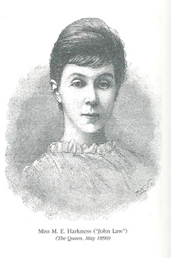 A portrait of Margaret Harkness.