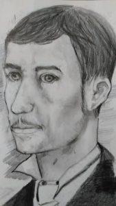 A portrait of Isaac M. Kozebrodski