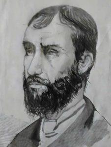 A portrait of Samuel Friedman