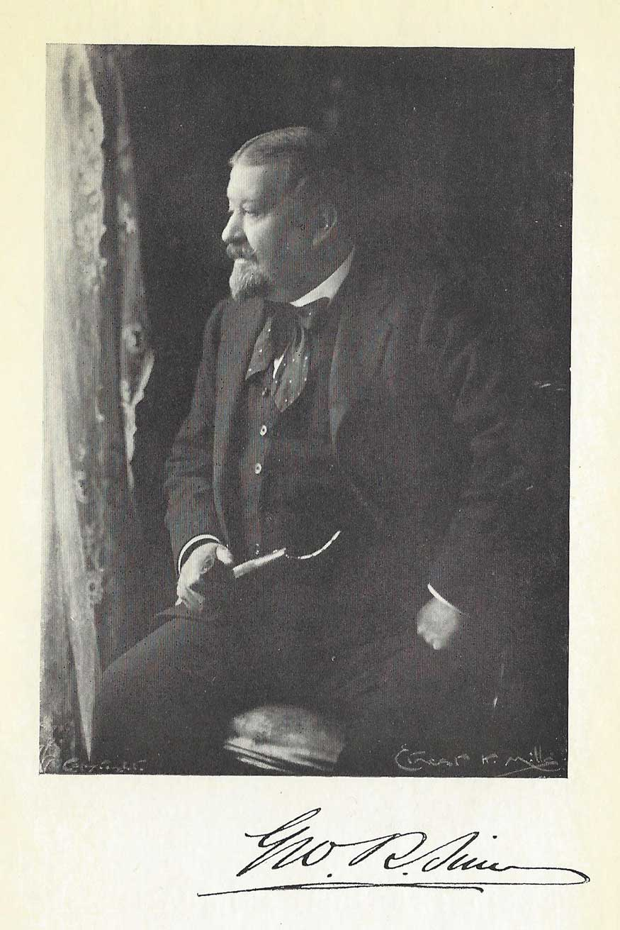 A photograph of George Sims