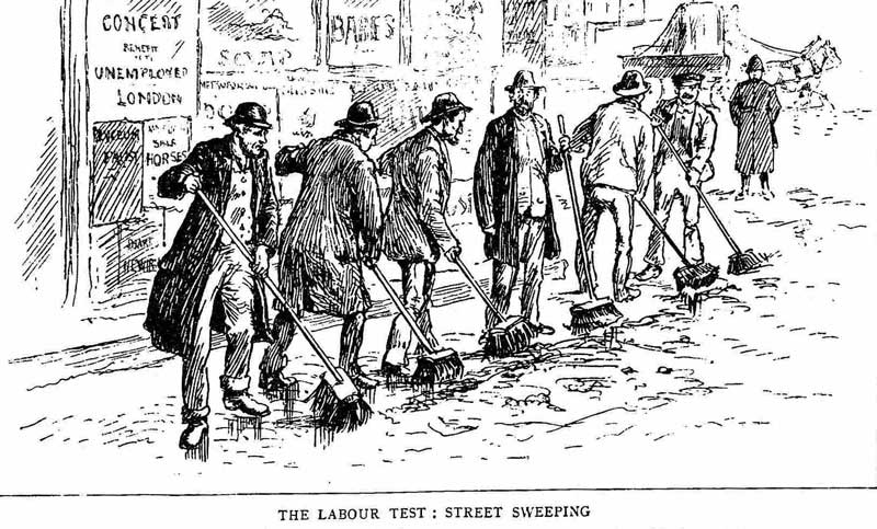 London street sweepers.