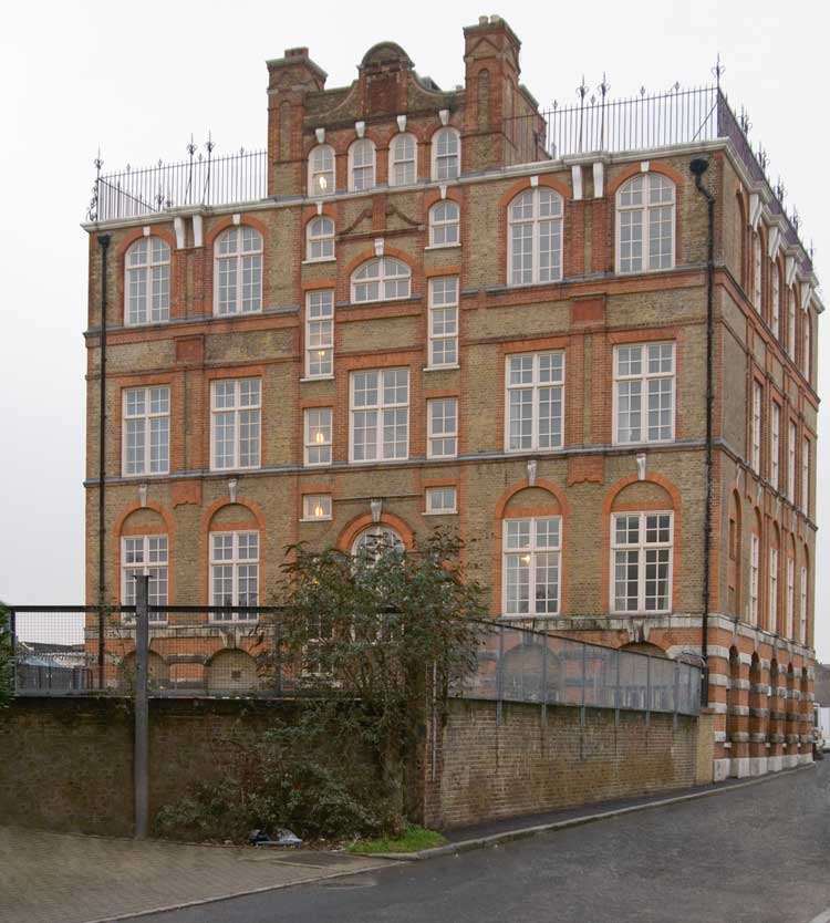 A Photograph of the Buck's Row Board School Close To The Murder Site Of Mary Nichols.
