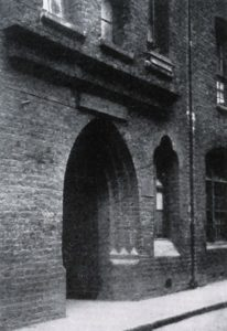 A view of George Yard Buildings