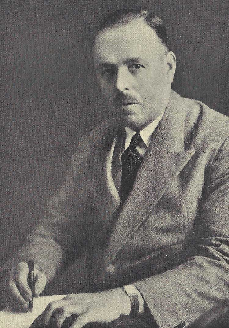 A photograph of Harold Brust