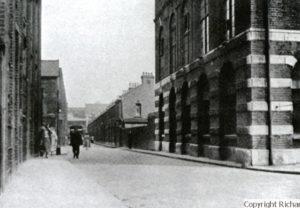 The murder site in Buck's Row.
