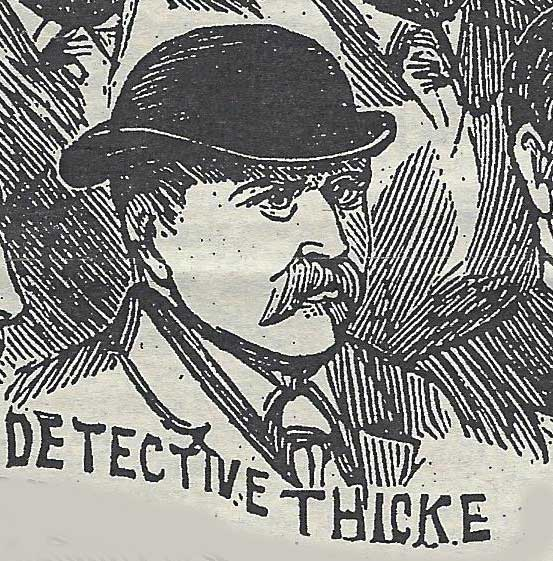A portrait of Sergeant Thicke.