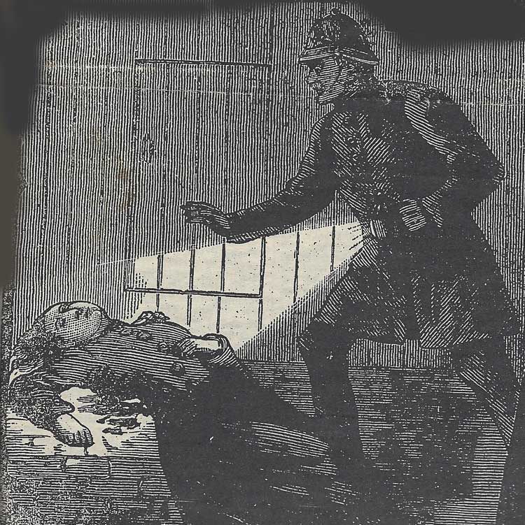 Constable Neil finds the body of Mary Nichols.