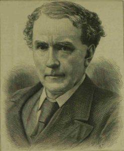 A portrait of Henry Matthews.