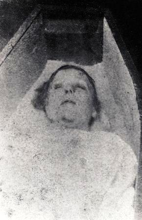 The photograph of Mary Nichols.