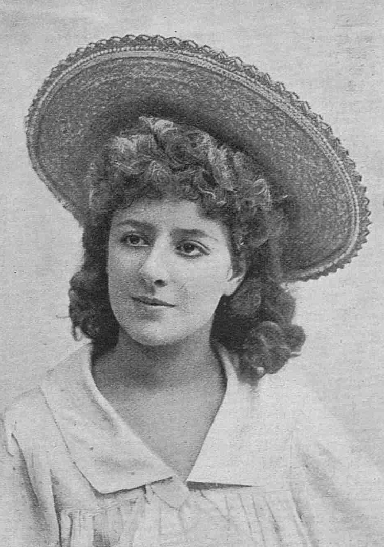 A photograph of actress Marie Montrose.