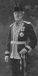 A photograph of Sir Robert Anderson.