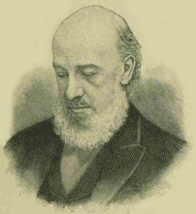 An illustration showing Samuel Barnett.