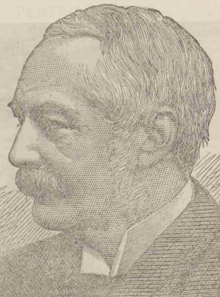 A portrait of James Monro, the Metropolitan Police Commissioner.