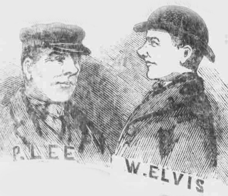 Portraits of two more suspects in the Regent's Park murder.