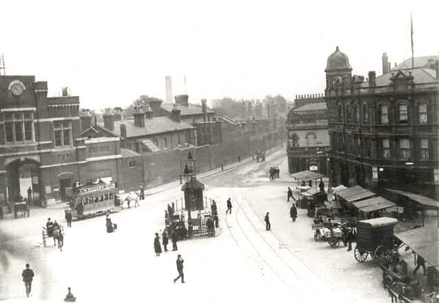 A photograph of Beresford Square.
