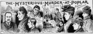 Illustrations of the inquest into the death of Mrs. Darby.