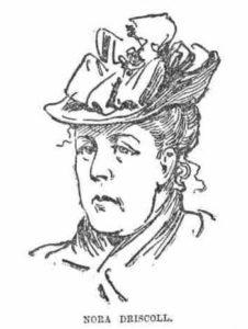A portrait of Nora Driscoll.