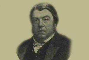 A portrait of Mr Lawson Tait