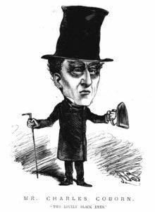 A portrait of Charles Coburn.