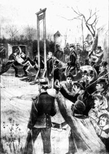 An illustration showing the execution of Vacher.