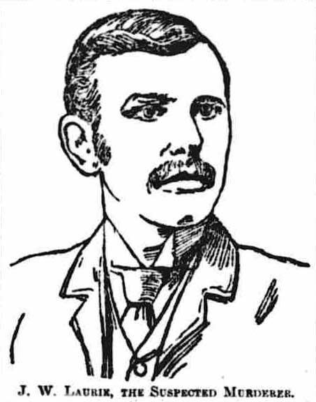 A portrait sketch of John Laurie.