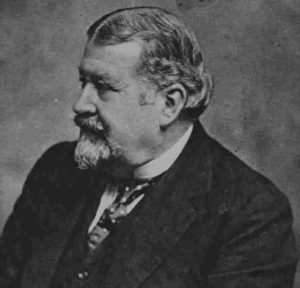 A photograph of George Sims.