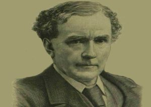 A portrait of Sir Henry Matthews.